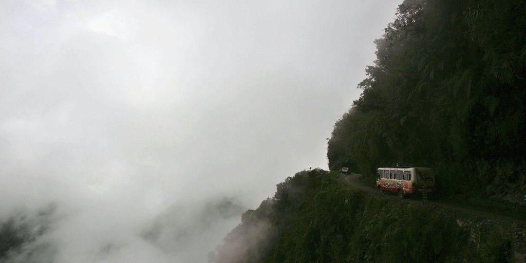 the-north-yungas-road-in-bolivia-is-beautiful-but-also-known-as-the-worlds-most-dangerous-road-because-of-its-single-lanes-tight-turns-and-steep-drop-offs
